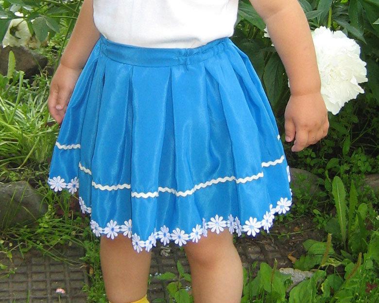 Сшить юбку детскую фото 6