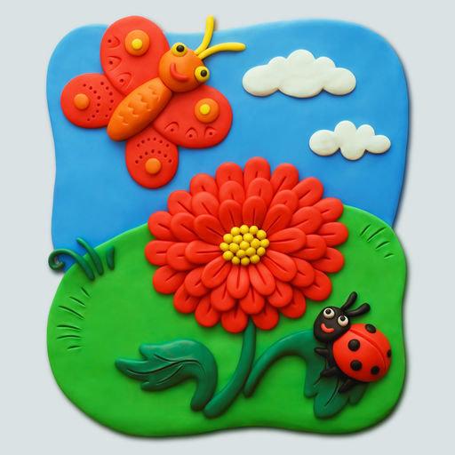 Поделки своими руками картины из пластилина для детей