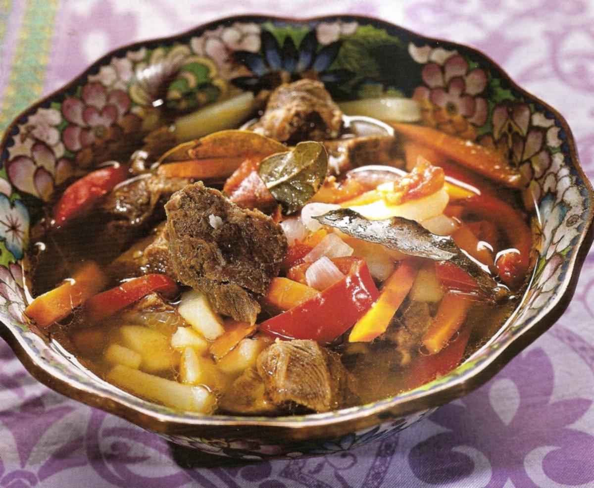 Туркменская шурпа из баранины рецепт
