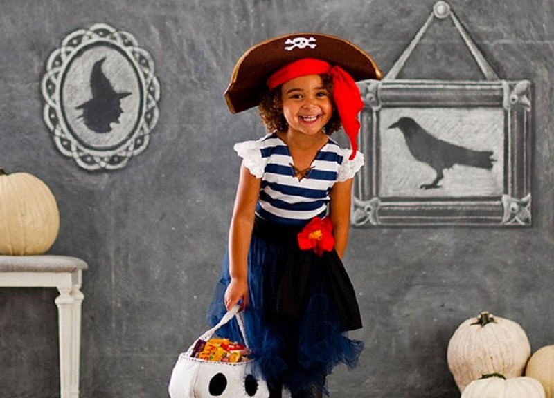 Костюм на пиратскую вечеринку для девочки своими руками фото 5