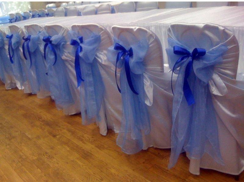 """банты на свадебные стулья фатин"""" - карточка пользователя kitka.soroka в Яндекс.Коллекциях"""