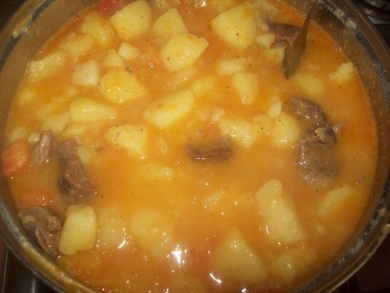 Картошка с курицей жидкая рецепт с фото пошагово