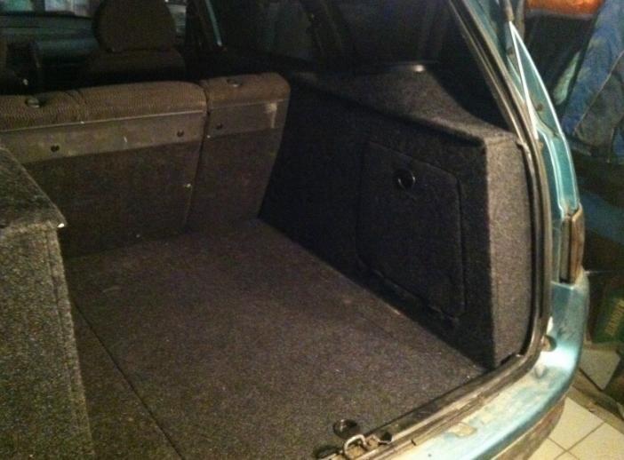 Переделка в багажнике ваз 2111 своими руками 82