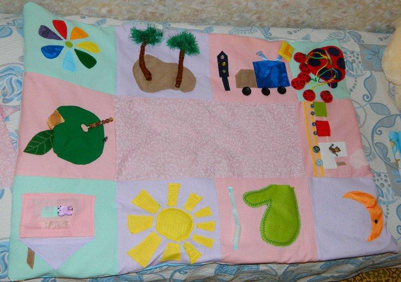 Детский развивающий коврик своим руками