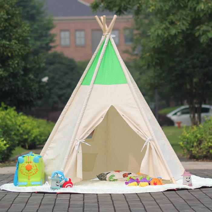 Сделать шатер для детей своими руками 13