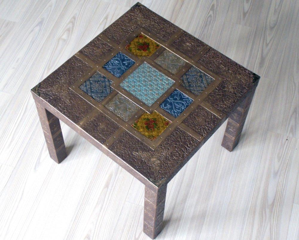 Задекорировать стол текстилем своими руками