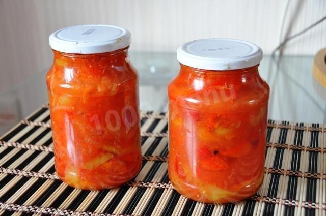 Перцы салат на зиму рецепты с пошагово