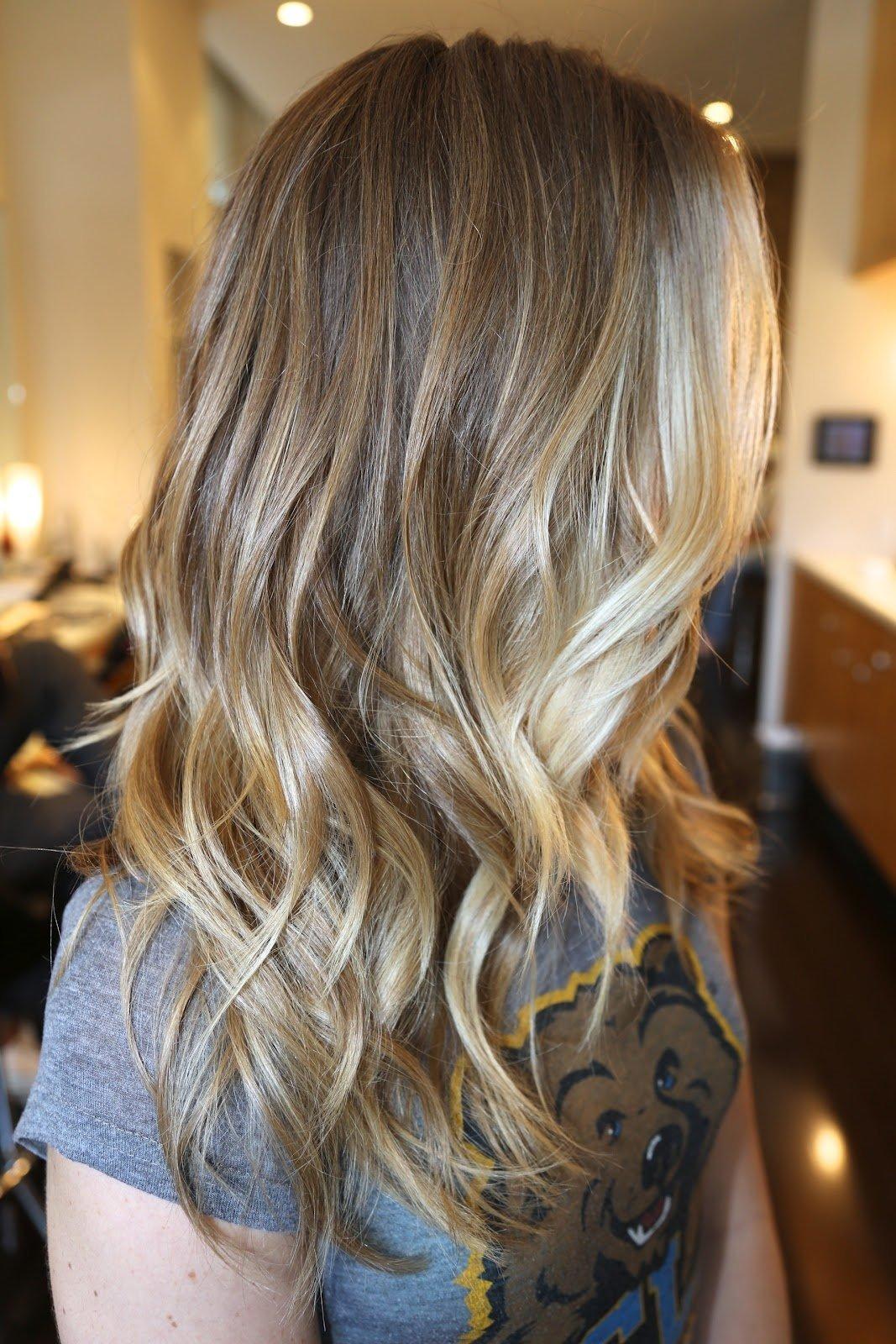 Омбре для блондинок: варианты окрашивания и фото-примеры 93