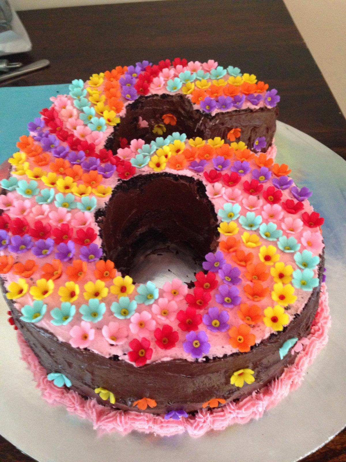 Интересный торт на день рождения своими руками