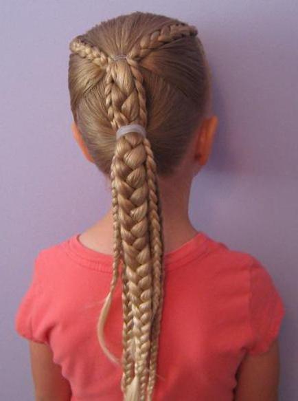 Плетение мелких косичек на длинные волосы