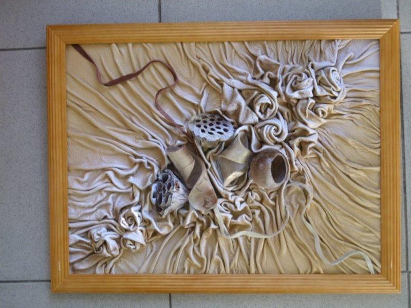 Декоративное панно своими руками из 13