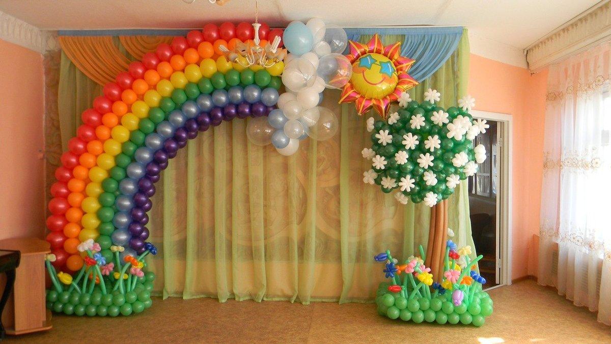 Как украсить зал на праздник своими руками 94