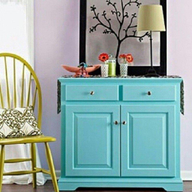Перекрасить деревянную мебель в другой цвет
