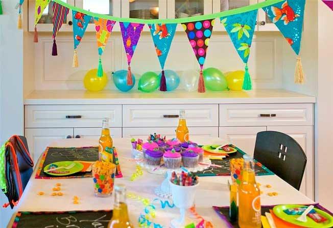 Как делать праздники на день рождения