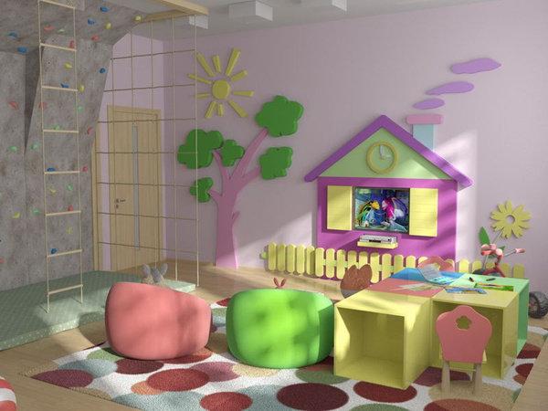 Оформление игровой комнаты в детском саду своими руками 59