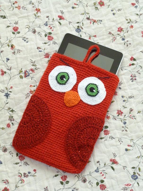 Чехол для телефона своими руками крючком сова