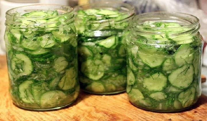 Салат на зиму из огурцов рецепты простые и вкусные на зиму
