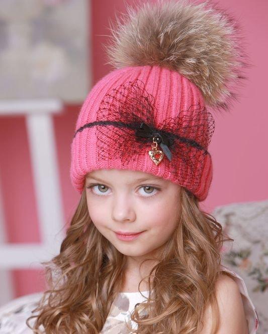 Вязание головные уборы для девочек 72