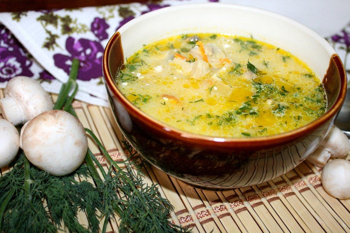 Сырный суп в мультиварке с грибами рецепты с фото
