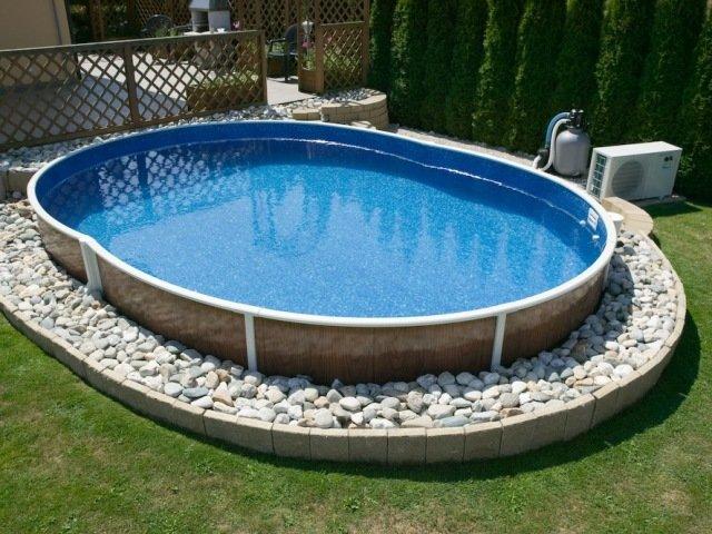 Как сделать бассейн в огороде своими руками 30