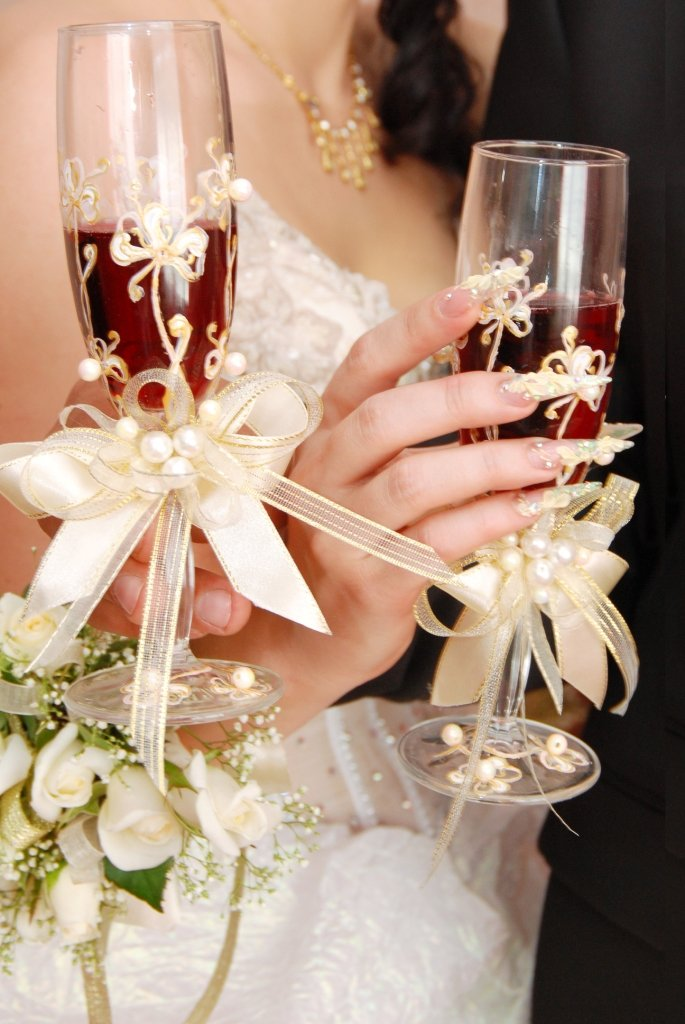 Свадебные украшения своими руками спб