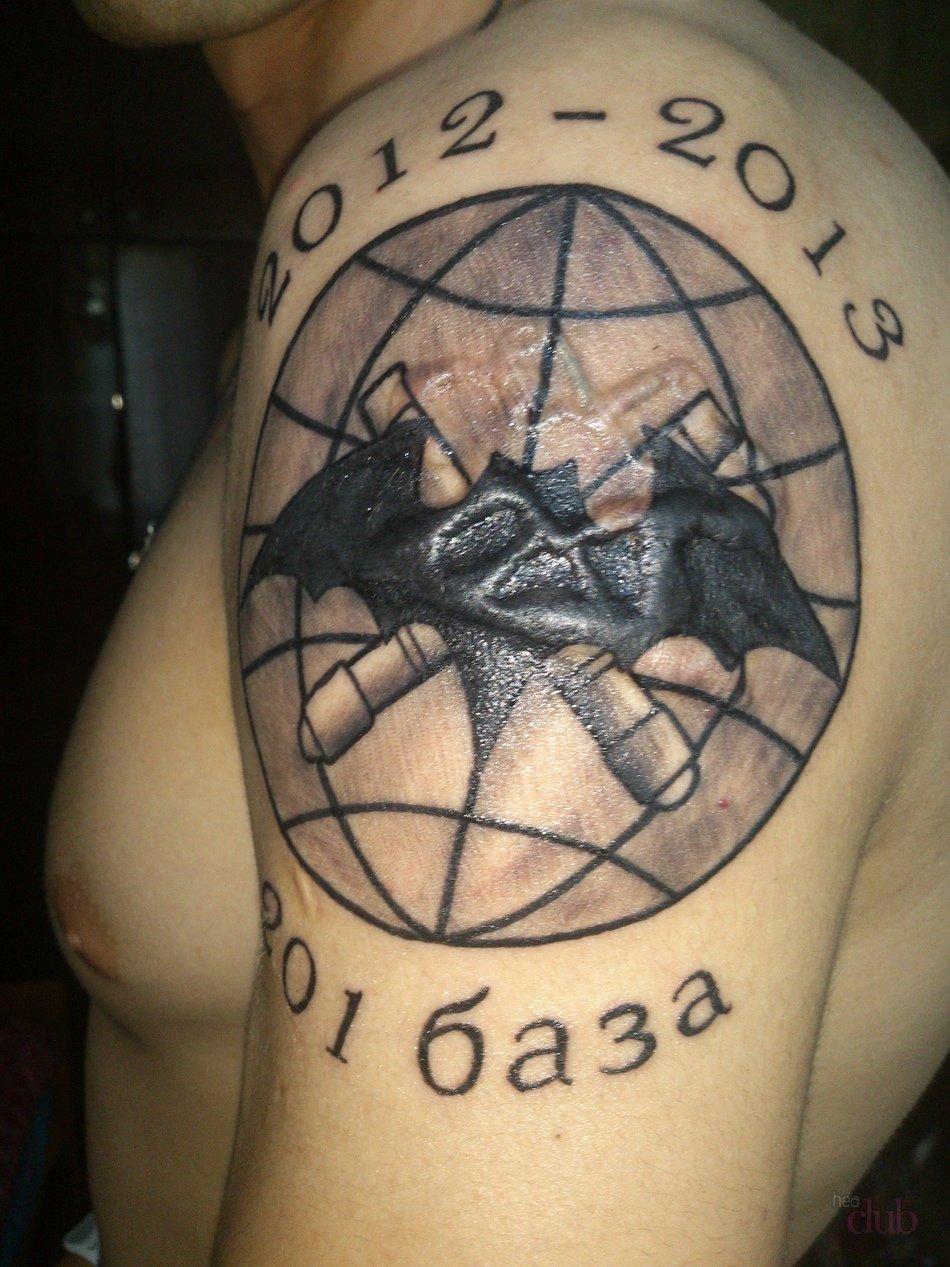 Фото татуировок войск пво