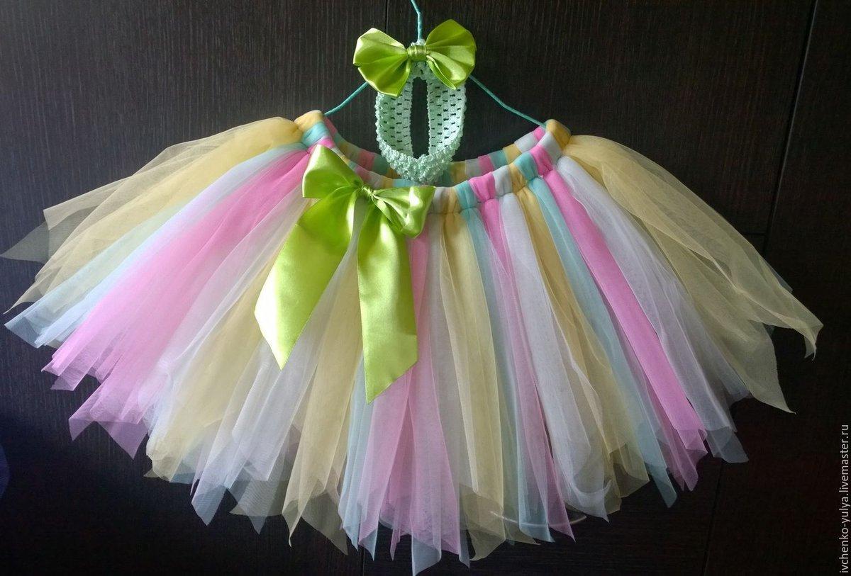 Платье или юбка из фатина своими руками 1