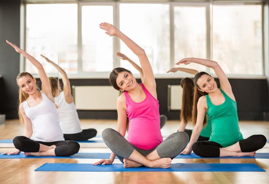 Вечерняя йога для беременных 97