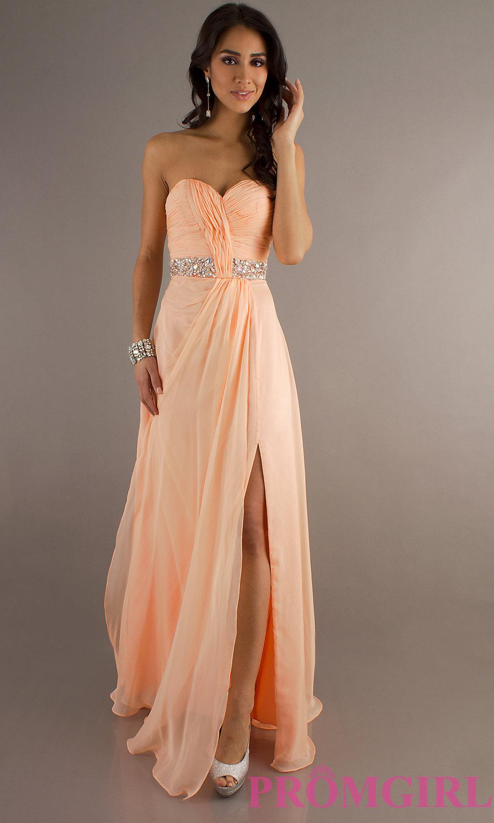 Свадебное платье персикового цвета