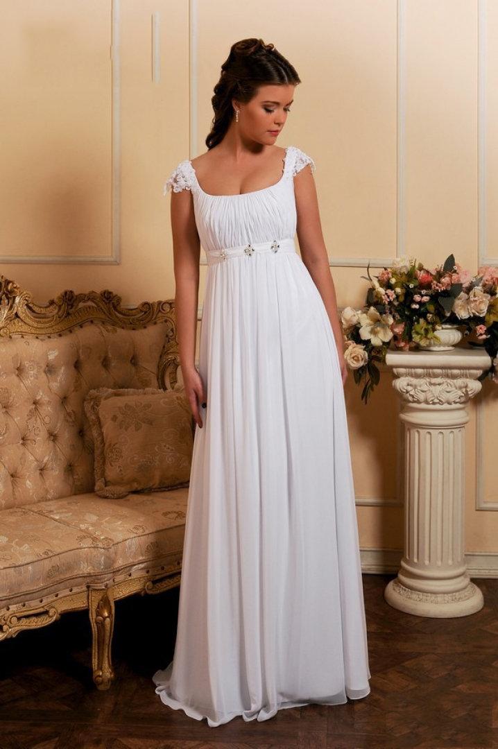 Свадебное платья в греческом стиле