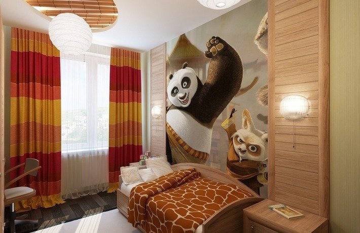 Спальни детские дизайн для мальчика