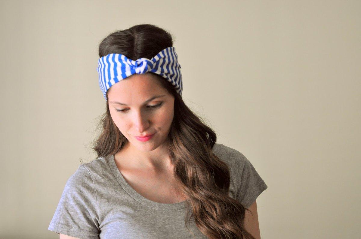 Летние повязки на голову для женщин своими руками 67