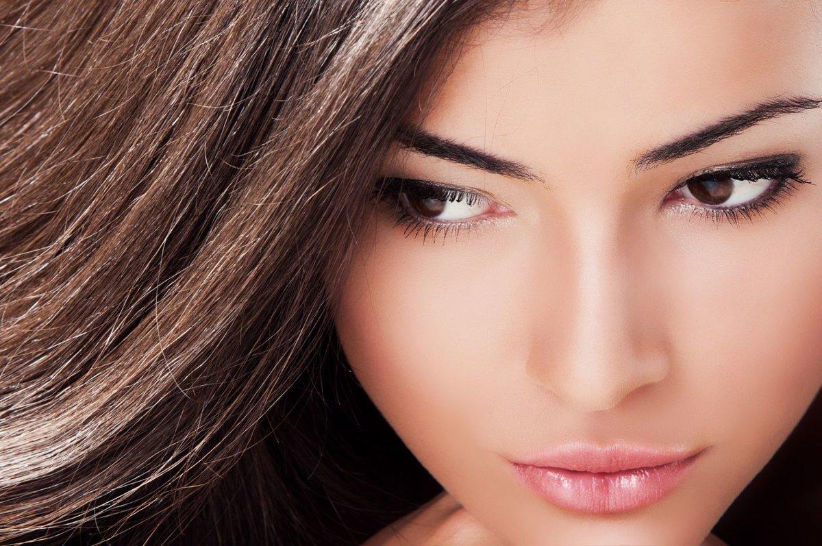 Свадебный макияж к карим глазам