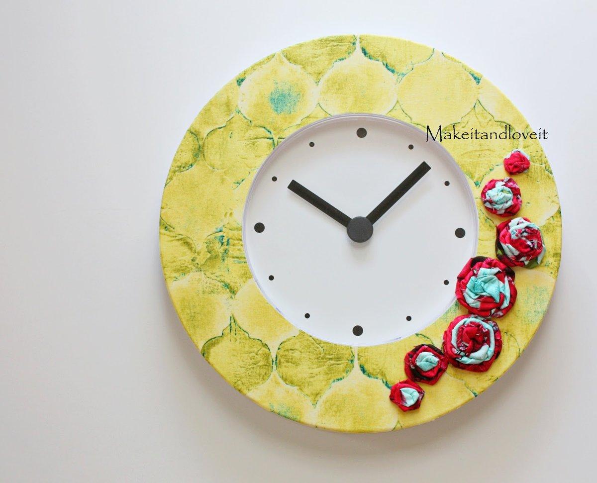 Эксклюзивные часы своими руками 79