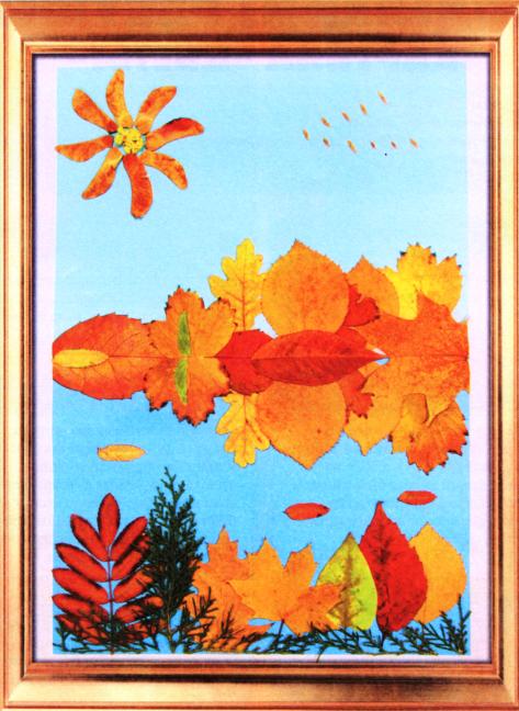 Картины поделки осень 95