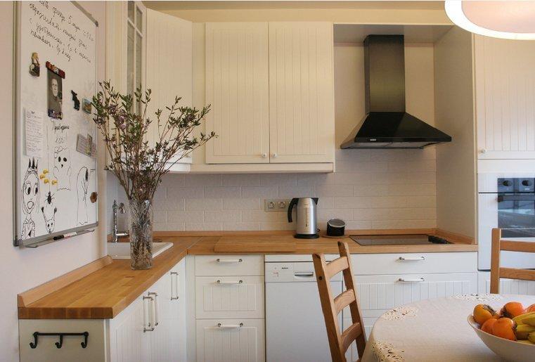 Кухни икеа в интерьере фото покупателей п-3