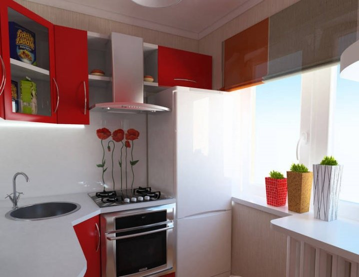 Кухня 5-6 кв м дизайн