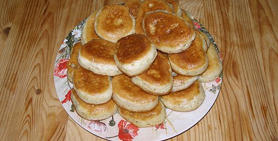 Оладьи на теплом кефире пышные рецепт с фото пошагово