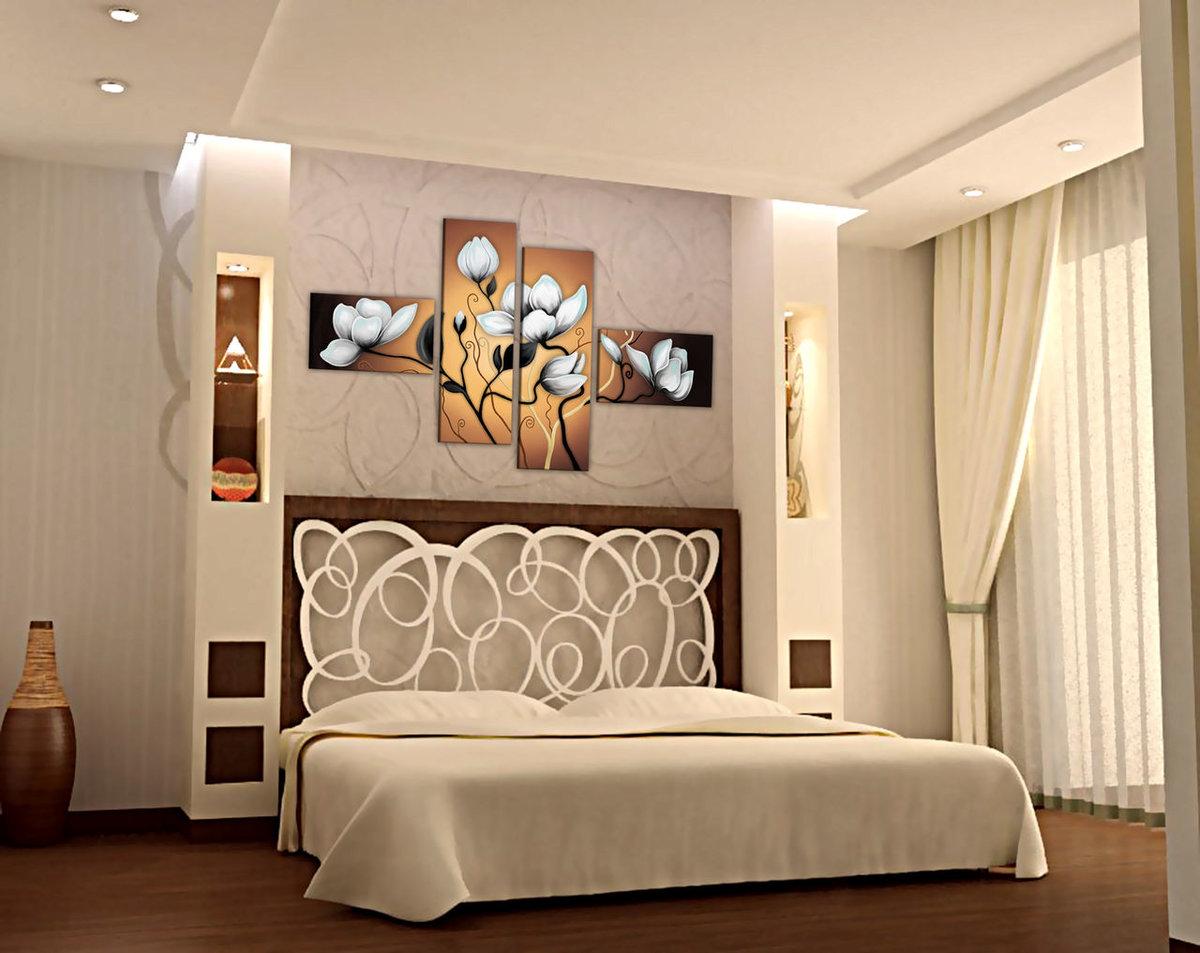 Декор спальной комнаты своими руками 39