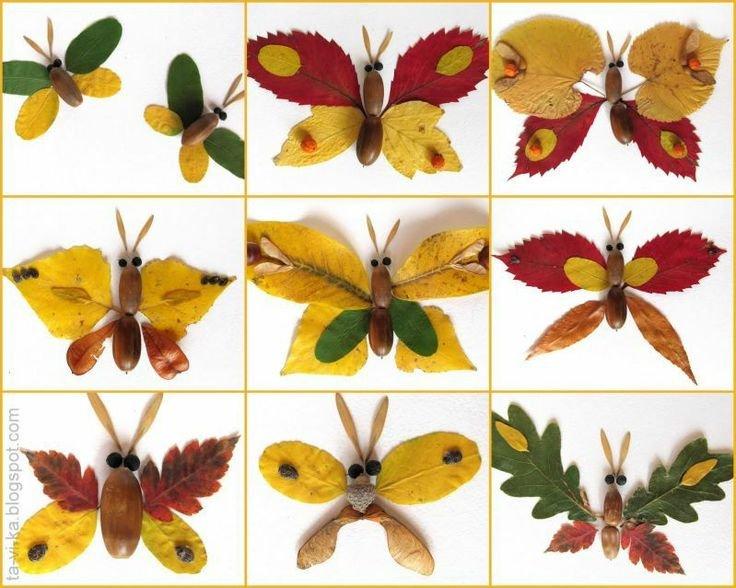 Поделки из листьев и из гербария 293