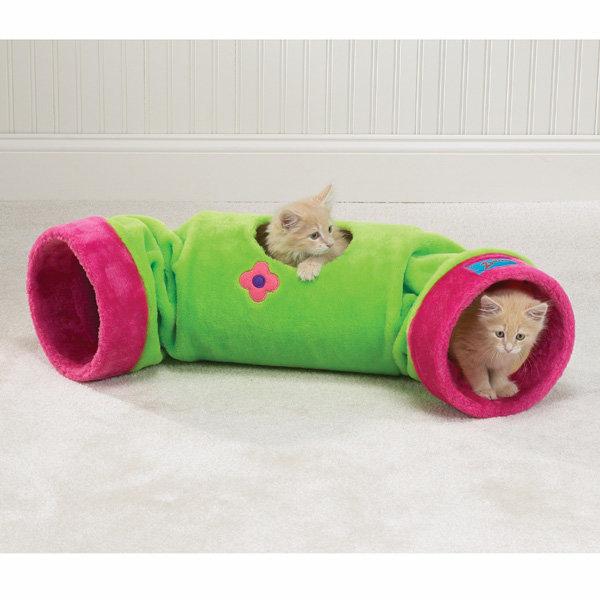 Тоннели для котов своими руками