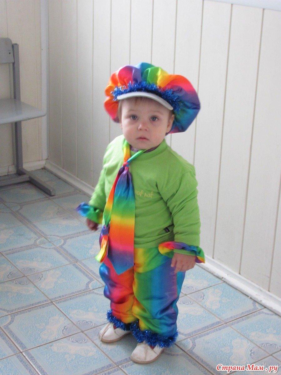 Новогодние костюмы для мальчика 2 года своими руками фото