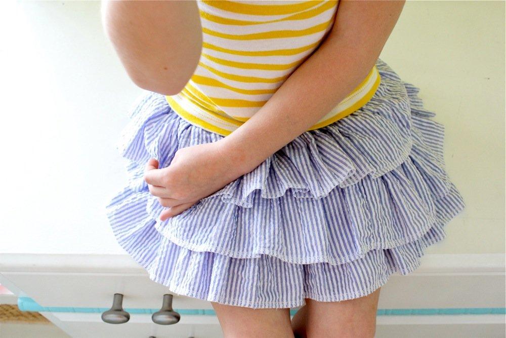 Простые юбки для девочек своими руками 5
