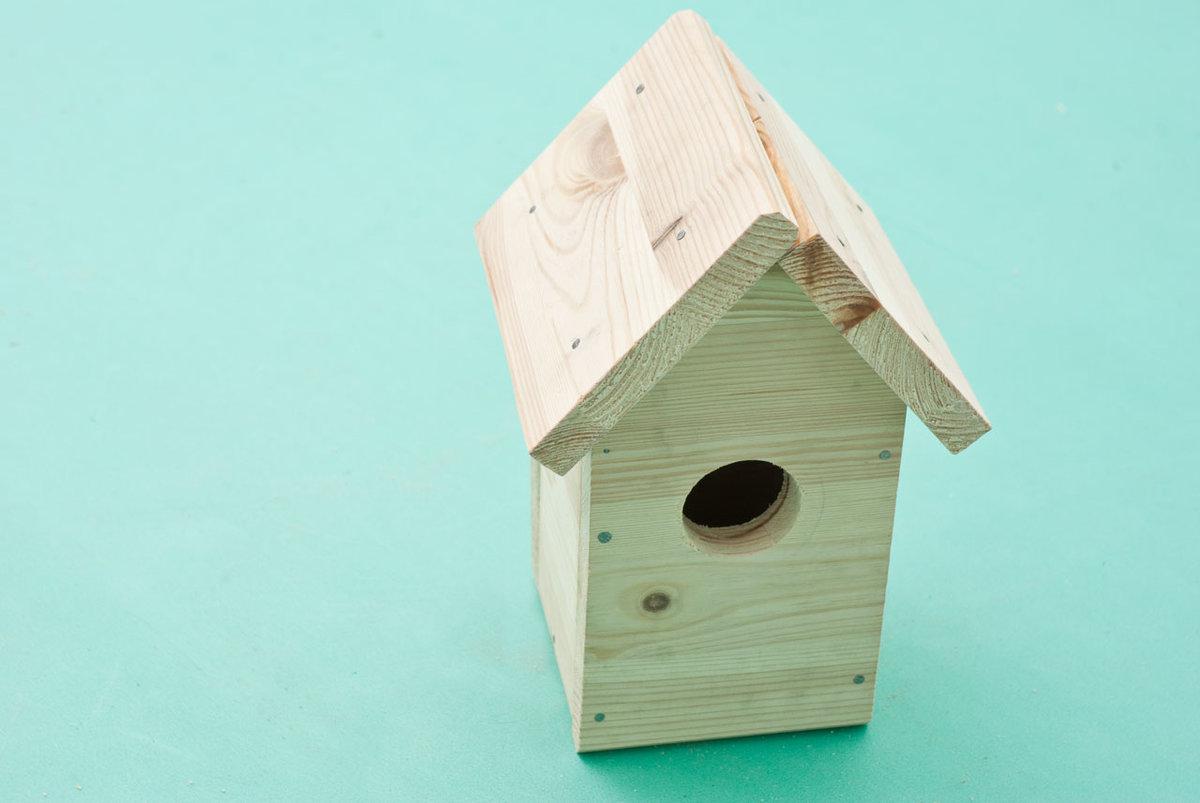 Сделать домик для птиц своими руками