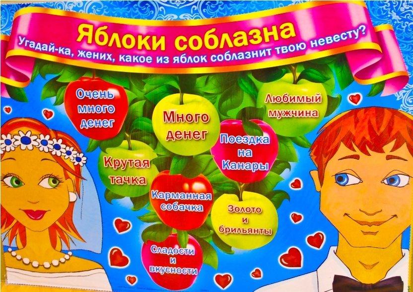 Конкурсы для выкупа невесты даты
