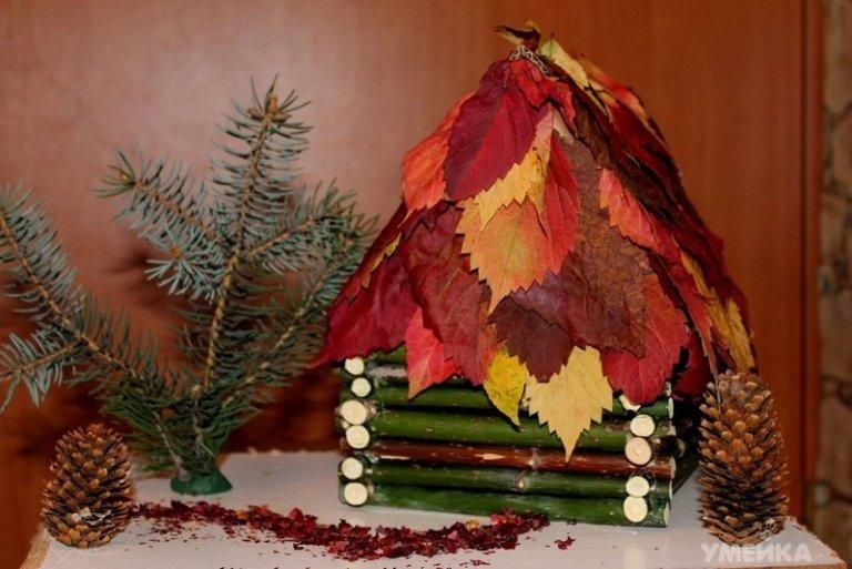 Поделка осень из природных материалов