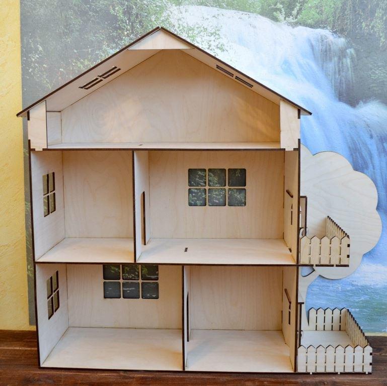 Кукольные домики своими руками фото из фанеры  29