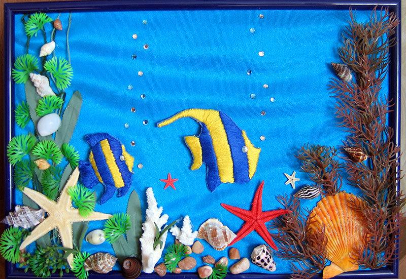 Поделка на морскую тему для детей 77