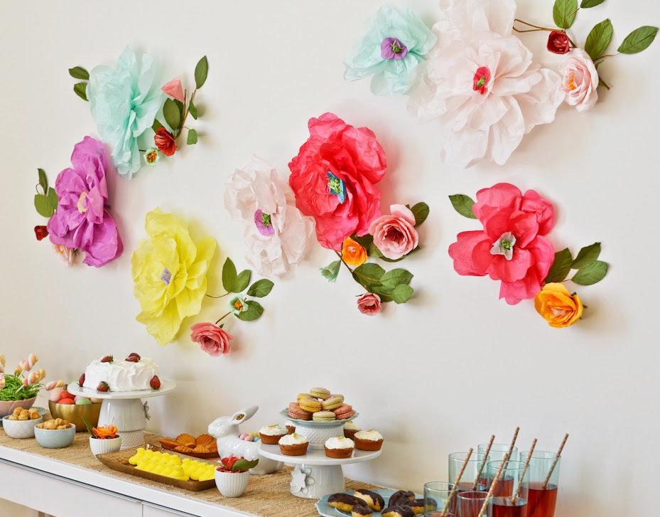 Цветы для праздника своими руками 65