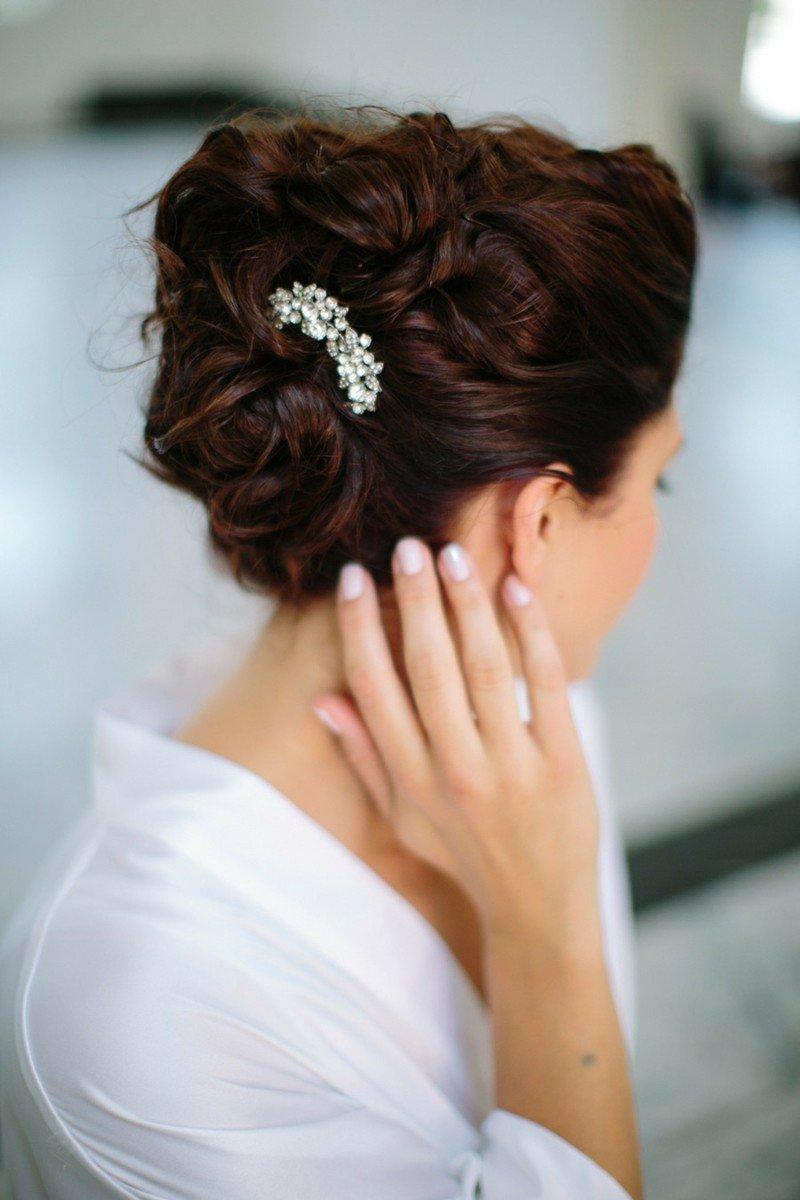Фото идеи свадебной прически